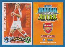 Arsenal Thomas Vermaelen Belgium